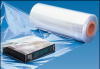 DVD shrink wrap roll with 96,000 square inches of PVC wrap