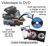 VHS to DVD home movie transfer